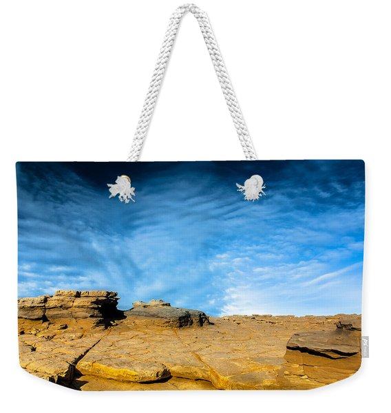 Yellow Rock Weekender Tote Bag
