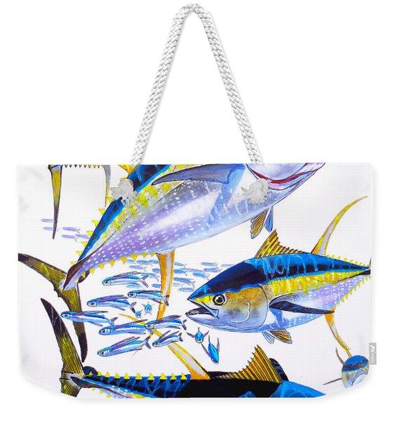Yellowfin Run Weekender Tote Bag