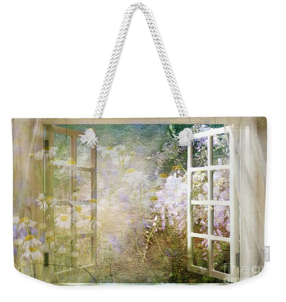 Yesterday Today And Tomorrow Weekender Tote Bag