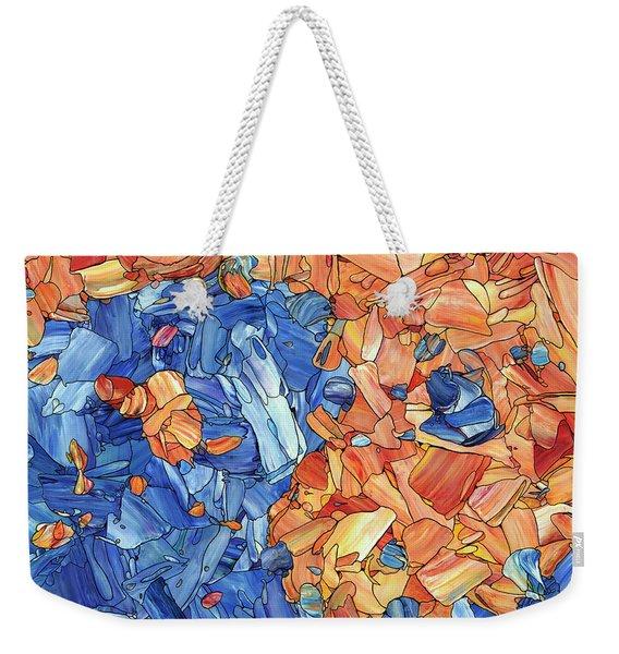 Yin-yang Weekender Tote Bag
