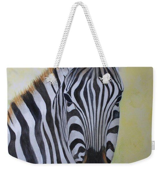 Yipes Stripes Weekender Tote Bag