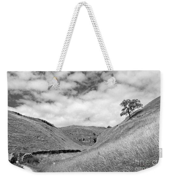 Lone Tree In The Yorkshire Dales Weekender Tote Bag