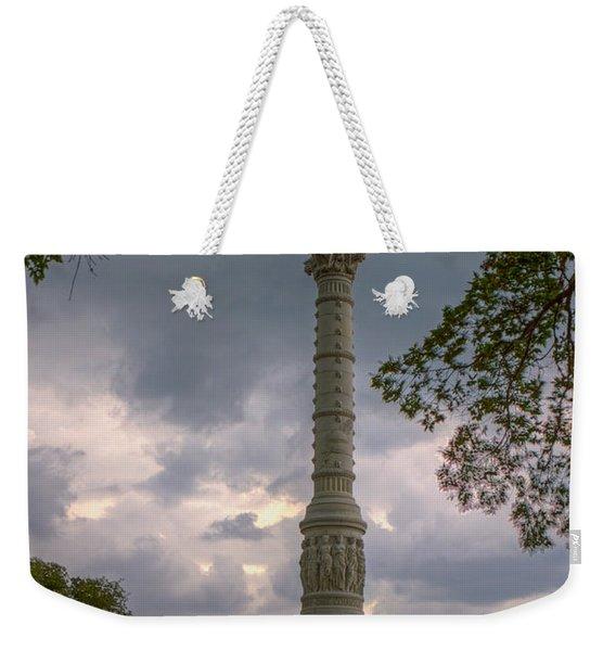 Yorktown Victory Monument Weekender Tote Bag