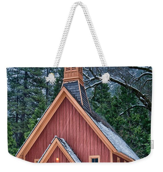 Yosemite Church Weekender Tote Bag
