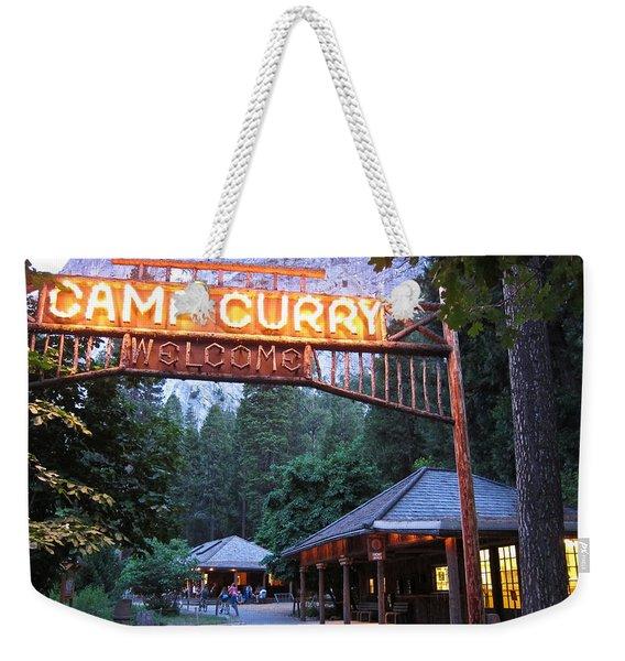 Yosemite Curry Village Weekender Tote Bag