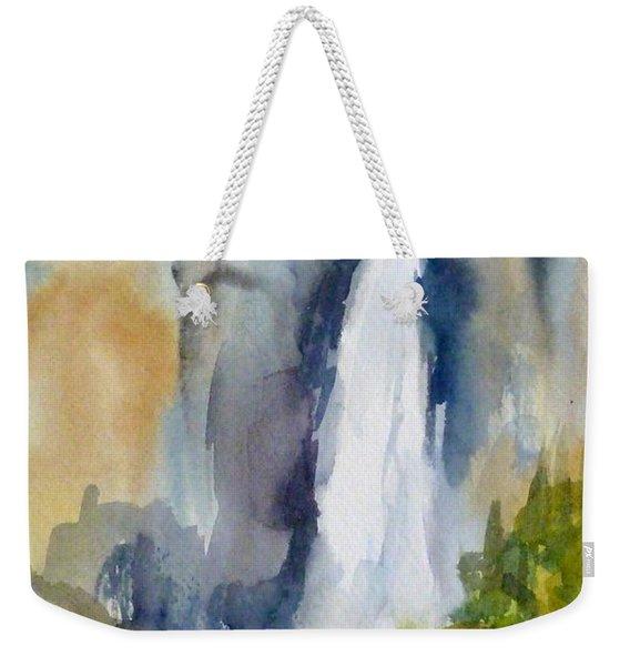 Yosemite Falls Springtime Weekender Tote Bag
