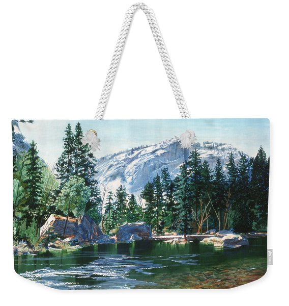 Yosemite Mirror Lake Weekender Tote Bag