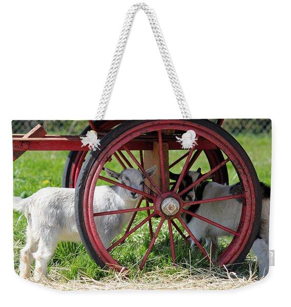 You Can't See Me Weekender Tote Bag