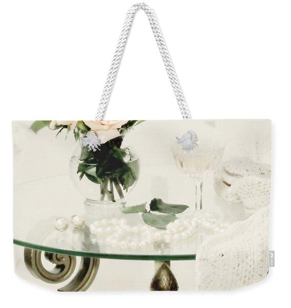 You Don't Bring Me Flowers Weekender Tote Bag