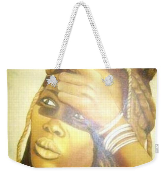 Young Himba Girl - Original Artwork Weekender Tote Bag