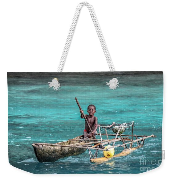 Young Seaman Weekender Tote Bag