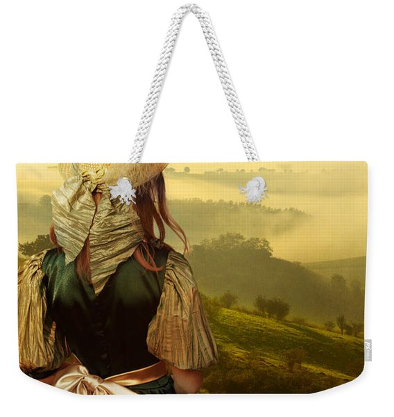 Weekender Tote Bag featuring the photograph Young Traveller by Jaroslaw Blaminsky