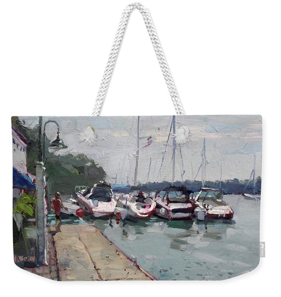 Youngstown Yachts Weekender Tote Bag
