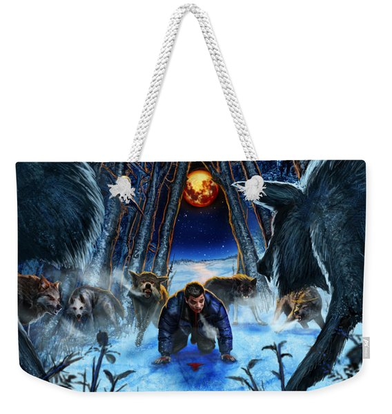Your Fears Will Consume You Weekender Tote Bag