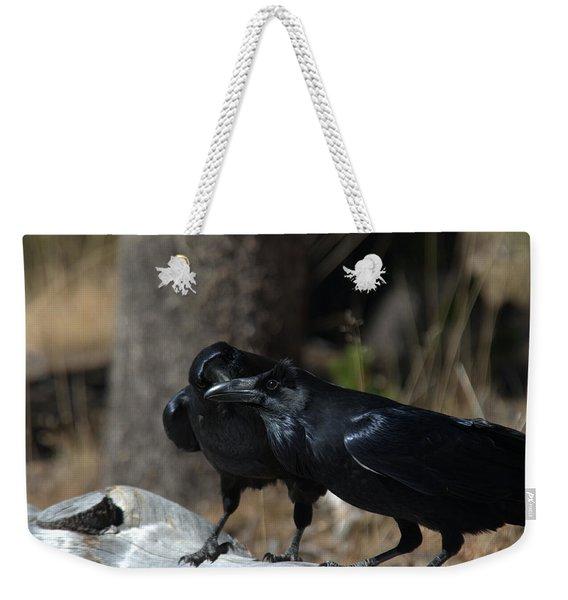 You've Got Something On Your Beak Weekender Tote Bag