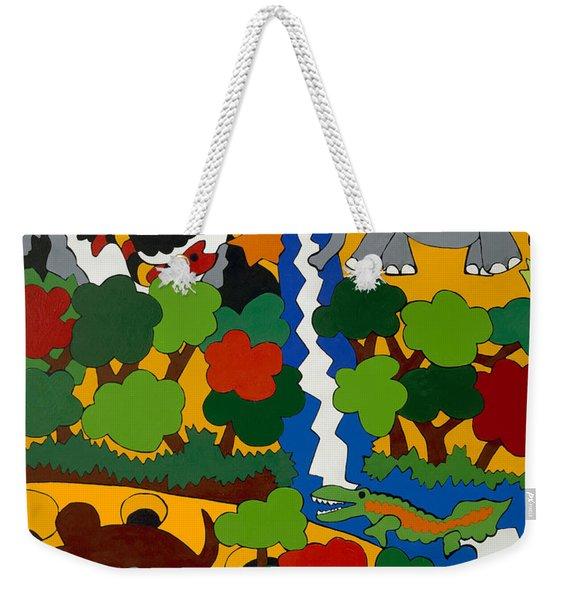 Zane Grey In Africa Weekender Tote Bag