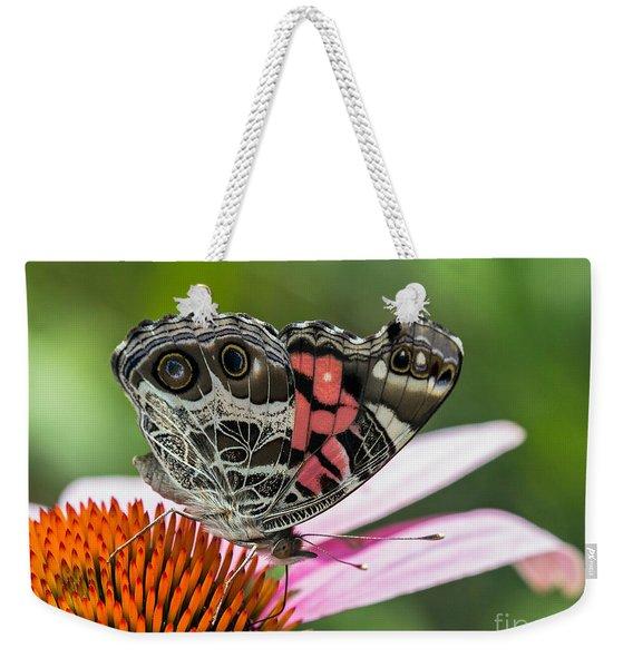 Butterfly Feeding Weekender Tote Bag