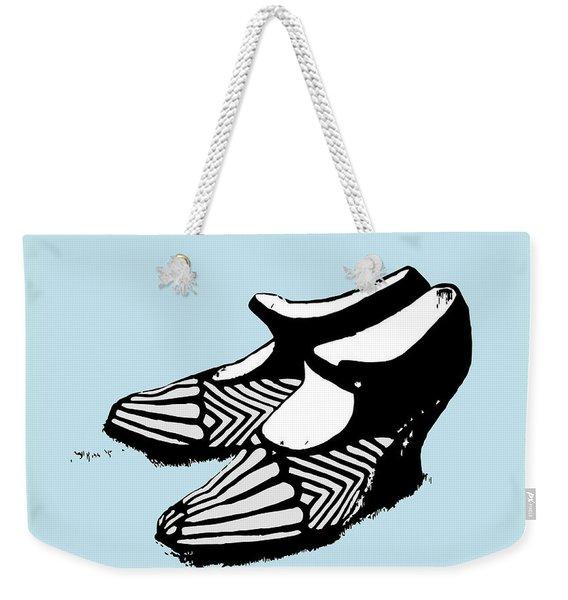 Zeldas Party 1920 Flapper Shoes...robins Egg Blue Weekender Tote Bag