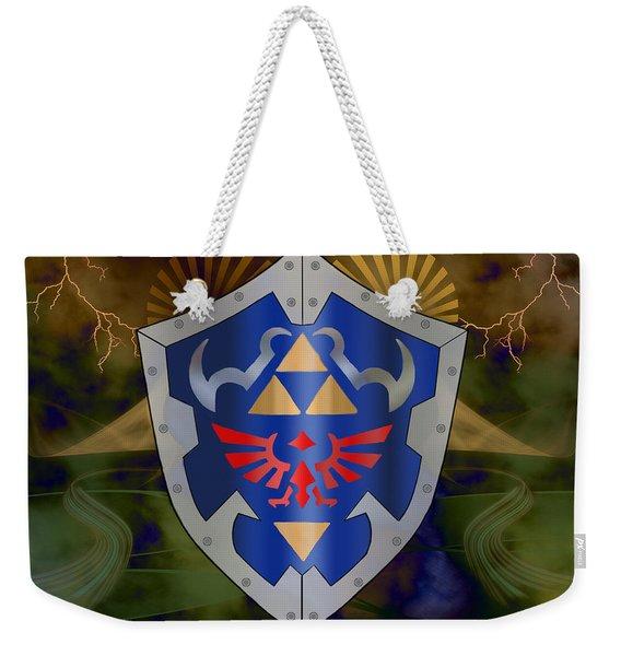 Hylian Zelda Shield Weekender Tote Bag