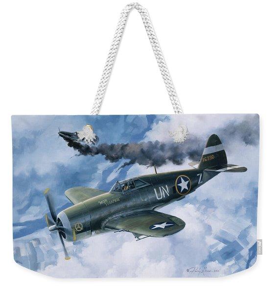 Zemke's Thunder Weekender Tote Bag