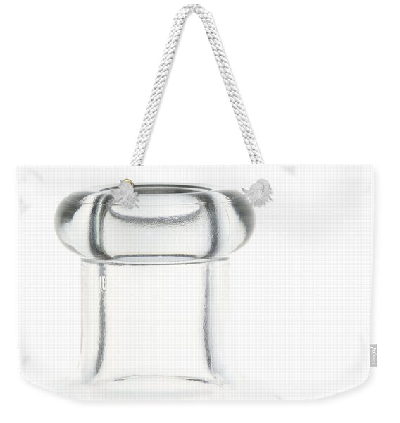 Zen Bottle 1 Weekender Tote Bag