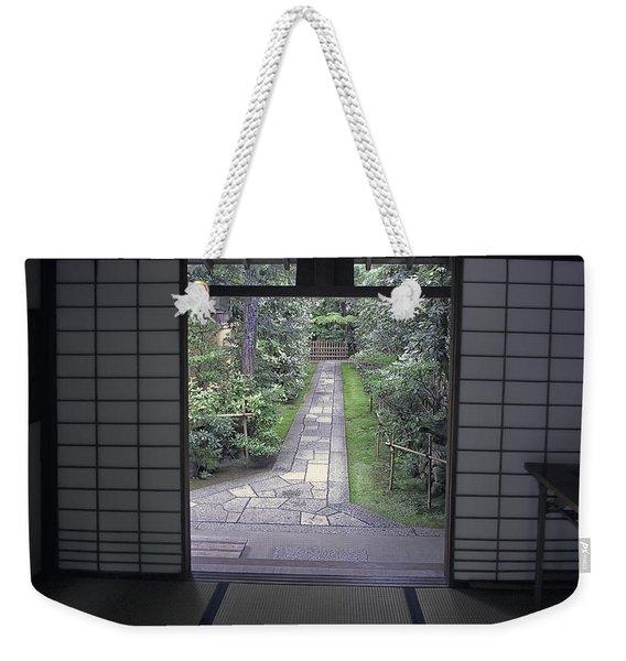 Zen Tea House Dream Weekender Tote Bag