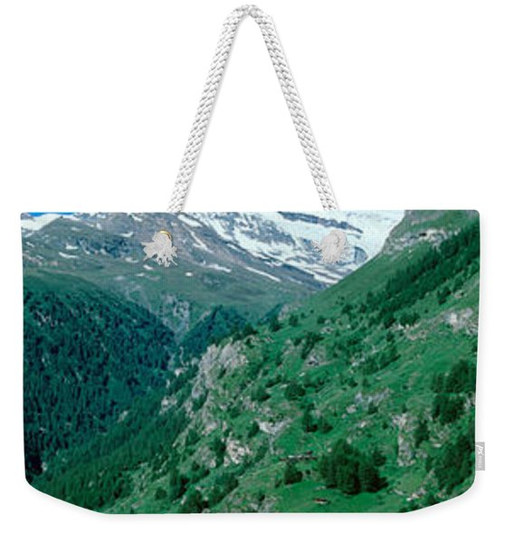 Zermatt, Switzerland Weekender Tote Bag