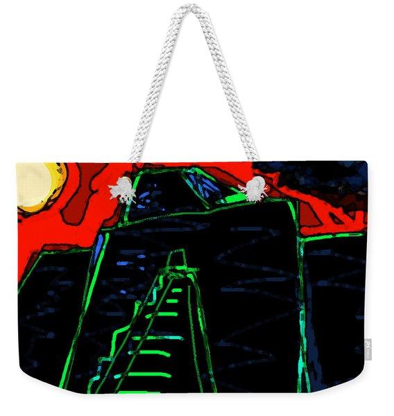 Ziggurat Nites Weekender Tote Bag