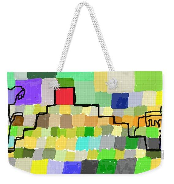 Ziggurat Weekender Tote Bag