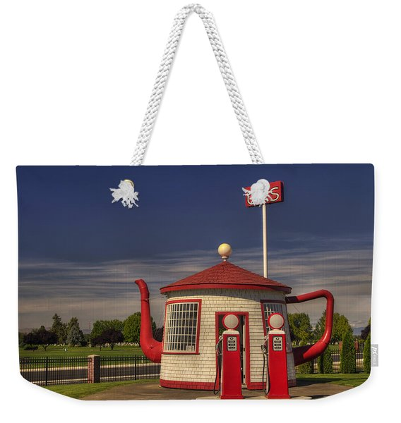 Zillah Teapot Dome Service Station Weekender Tote Bag