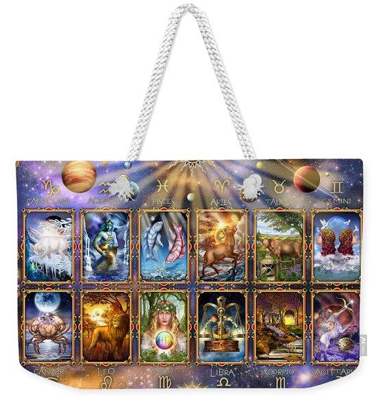 Zodiac 3 Weekender Tote Bag