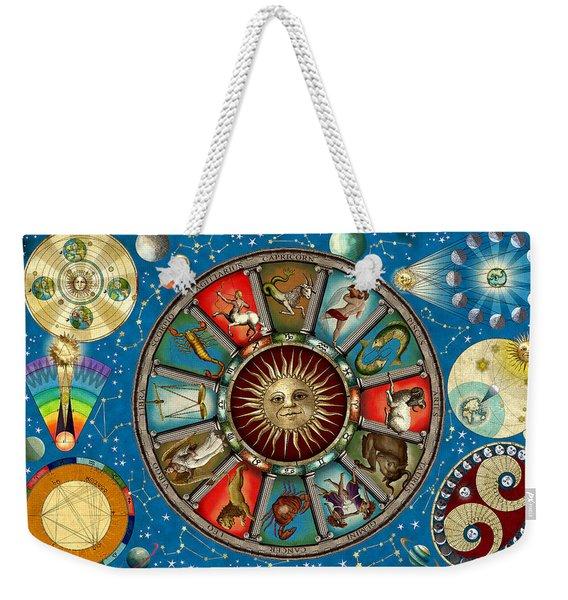 Zodiac Colour Weekender Tote Bag