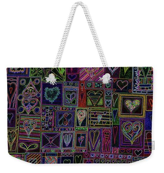 Find U'r Love Found V 3 Weekender Tote Bag