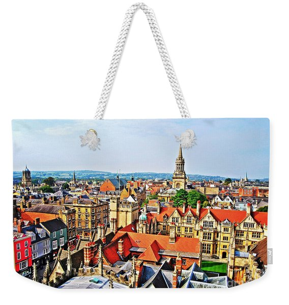 Oxford Cityscape Weekender Tote Bag