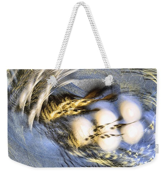 Promise Me Spring Will Come - Abstract Art Weekender Tote Bag
