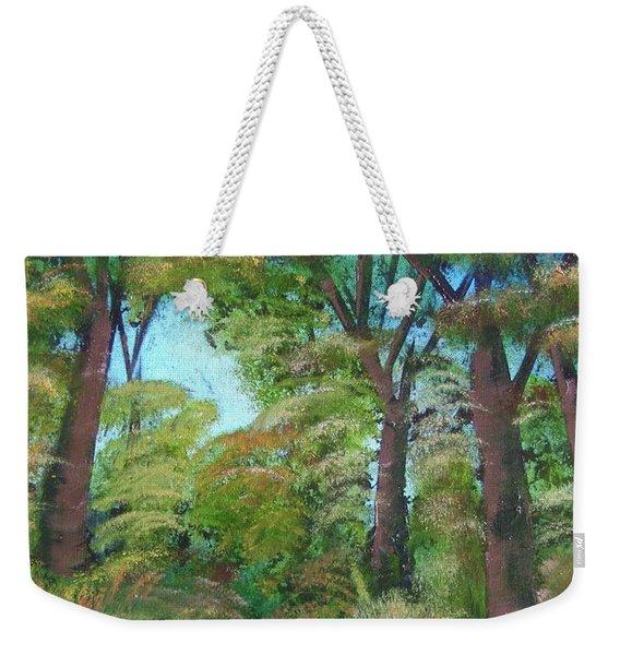 Autumn Evening Weekender Tote Bag