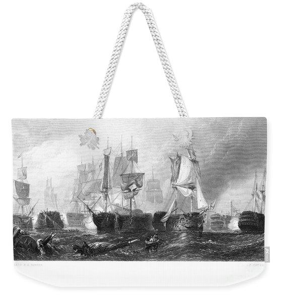 Battle Of Trafalgar, 1805 Weekender Tote Bag