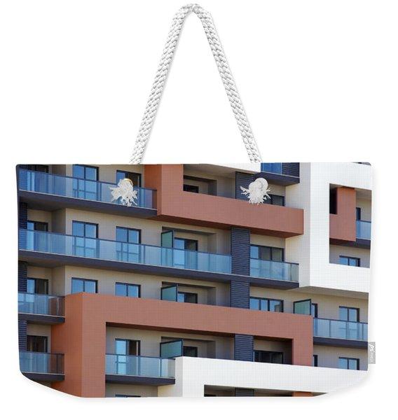 Building Facade Weekender Tote Bag