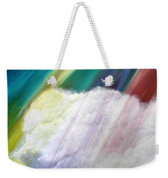 Cloud Within Rainbow Weekender Tote Bag