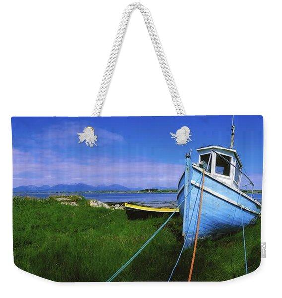 Connemara, Co Galway, Ireland Fishing Weekender Tote Bag