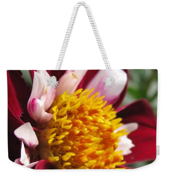 Dahlia Named Mary Eveline Weekender Tote Bag