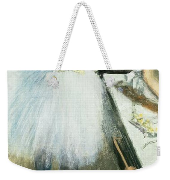 Dancer In Her Dressing Room Weekender Tote Bag
