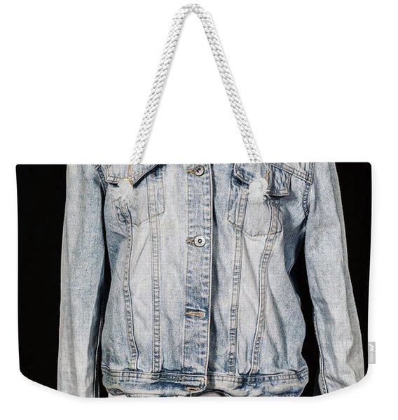 Denim Jacket Weekender Tote Bag