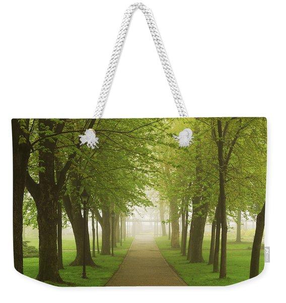 Foggy Park Weekender Tote Bag