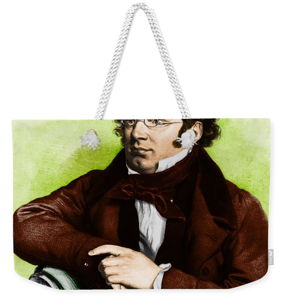 Franz Peter Schubert, Austrian Composer Weekender Tote Bag