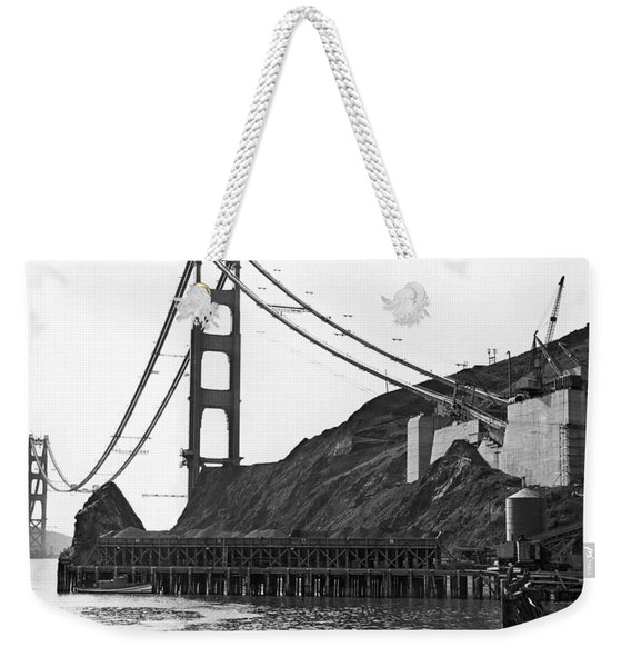 Golden Gate Bridge Work Weekender Tote Bag