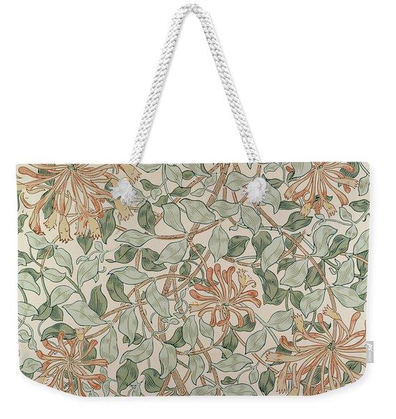 Honeysuckle Design Weekender Tote Bag