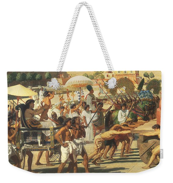 Israel In Egypt Weekender Tote Bag