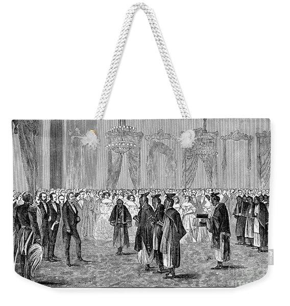 Japanese Embassy, 1860 Weekender Tote Bag