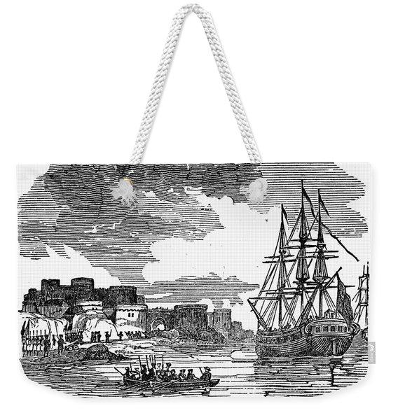 King Georges War, 1745 Weekender Tote Bag